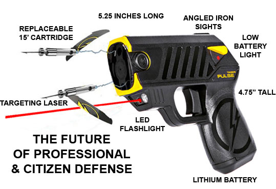 how to use a taser